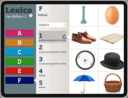 Lexico Verstehen 2 (German) screenshot